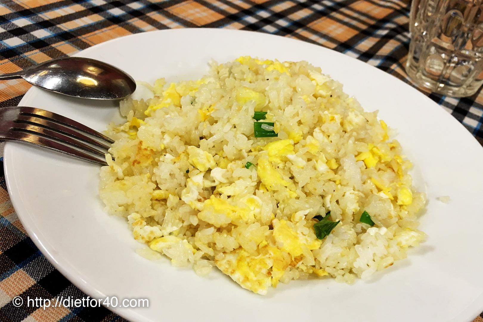 卵のチャーハン
